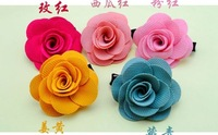 Freeshipping New Lovely Kids/Children/Baby/Girl/Princess Peony Flower Hair Clips/Hairpins/Hair Claws/Hair Accessories/Wholesale