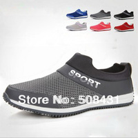 B Hot Sale Sneakers For Men 2014Casual Sport Running Shoes Breathable Male Net Fabric Sneaker Men Shoes