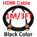 High Speed New 3FT 1M HDMI 1.3 Gold Cable For HDTV DVD PS3 1080P