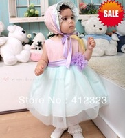 free shipping baby children girls brand  princess ball gown dresses baby clothing children wear 2013 new