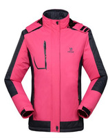 FREE SHIPPING Women's New Outdoor lady  mountain ski jacket Double Layer 2 laminated adhesive 8302A