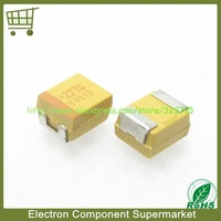 Free Shipping 50pcs/1Lot  SMD Tantalum Capacitors   4V 220UF    B(3528) 220UF 4V