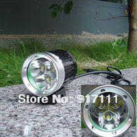 Super bright 3 t6 light bicycle lamp light lights super bright headlight caplights