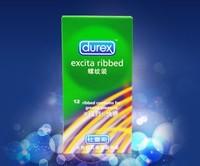 free shipping hot sales,New durex, thread, condoms,Adult supplies,600pcs/lot,Excita Ribbe