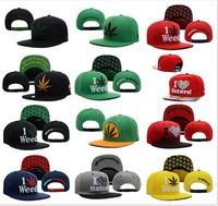 2014 Hot New Arrival Adjustable DGK I LOVE haters Weed Snapback Caps Men Funny Hip Pop Baseball Cap Snapback hats