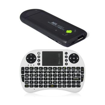 Best Selling MK809 II Android 4.2 Mini PC TV Stciker RK3066 Dual Core 1GB RAM 8GB Bluetooth WIFI Wireless Keyboard Touchpad