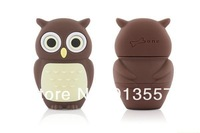 wholesale genuine 2G 4G 8G 16G 32G usb drive pen drive usb flash drive memory cartoon plastic owl