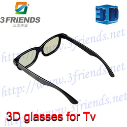 Hot Selling+High Quality 2pc/lot passive cinema circular polarized 3d film glasses fo real D and masterimage system(China (Mainland))