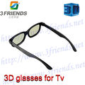 Hot Selling+High Quality 2pc/lot passive cinema circular polarized 3d film glasses fo real D and masterimage system