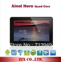 "Original 10.1"" Aino Hero II Ainol Novo 10 Hero II 1280x800 IPS Quad Core Android 4.1 1GB/16GB GPS WIFI Bluetooth"