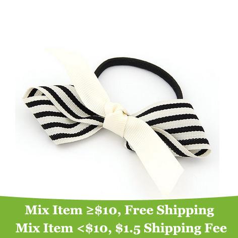 fashion charming big bowknot hair band hair clip hair jewelry! cRYSTAL sHOP(China (Mainland))