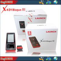 2014  Newest 100% Original Launch X431 Diagun III universal auto dianostic scan tool X-431 diagun III update online DHL free
