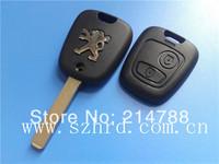 Peugeot 307 2 buttons remote key shell key blanks car key