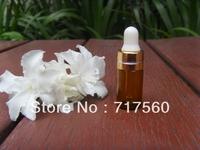 10pcs 3ml Amber Glass Dropper Bottles/Vials Storing Dispay Sample Bottles