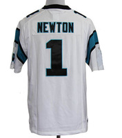 2012 america football game #1 NEWTON football men's Jerseys,Embroidery logos --S-XXXL
