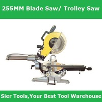 255mm Blade Trolley Saws/Wood Sawing Machine/Cut wood and alloy material/Delivery By Fedex,UPS or DHL