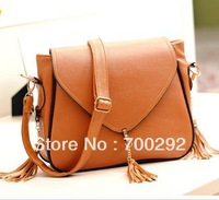 Autumn and winter tassel shoulder bags fashion women's handbags