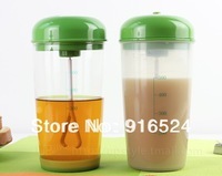 Free Shipping+2012 New Features Shaker Protein Powder Dedicated Electric Blender Jar 600ml Cup Body Of PP Plastic Material