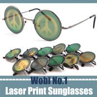 2013 unique fashion sunglasses trendy designer eyewear china geek glasses frames retro men vintage round punk design goggle