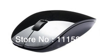 free shipping 2013  newest fashionable - wireless mouse 2.4G receiver, super slim mouse Classic quality