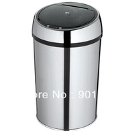 6L Guest room-stainless steel Automatic rubbish bin-Touchless rubbish bin-sensor rubbish bin
