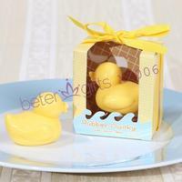 Free shipping 100box Florentijn Hofman design Rubber Ducky Soap XZ006 bath toy duck, floating duck XZ006