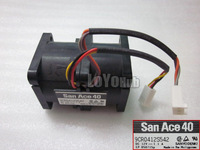 Free shipping For Sanyo Denki 9CR0412S542 Server Square Fan DC 12V 1.1A 40x40x56mm  6wire 6pin