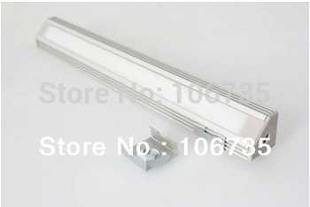 Fedex free shipping MOQ10m wholesale anodized aluminum Corner Mount MDF LED Profile Housing with 45 degree LED light emission