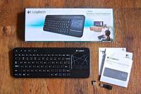 Free Shipping!Logitech K400R USB Wireless Touch Keyboard Keypad K400 Pro Plus Muti-media Win8