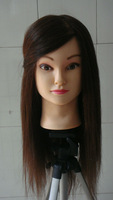 China wholesale 18''  animal fur styling mannequin head for practice & training mannequin on sale