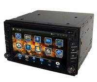 HD in dash 2din head unit 6.2inch car cd sd usb mp3 mp4 dvd player gps navigation can choose logo Button Back Light color