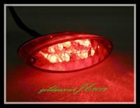 Motorcycle ATV Red LED Tail Running Brake Light   FOR  Suzuki ATV MX DR DRZ Z 650 400 SM LT King Quad