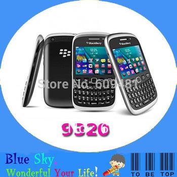 Original BlackBerry phone Curve 9320 Unlocked Phone 3.15MP camera 512 MB ROM, 512 MB RAM