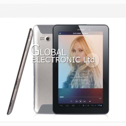 Best price Tablet PC 7 Inch VOOSOO V7 Android 4.0 512MB 4GB Capacitive screen dual Carmera Phone call GPS 3G Bluetooth 30 pcs(China (Mainland))