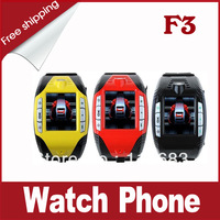 F3 Tri Band Sports Wrist Watch with Bluetooth MP3/MP4 Player Mobile Phone