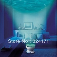 Freeshipping Led Night Light Projector Ocean Daren Waves Projector  Valentine'day gift