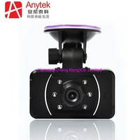 The Global First Slide Design Car DVR GPS Night Vision G-sensor AT008 2.0'' Car Video Recorder Car Black Box