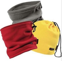 Outdoor polar fleece neck sets Ski cap Riding hat Winter Hat ear warm scarf hat Free Shipping