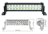 "72W 13.5"" 5000LM 10-30V Off road light bars Offroad LED working light Truck light LED Work light"