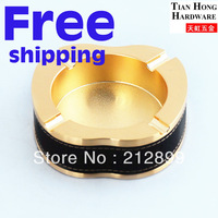 TianHong Free shipping High qulity Household Square Metal Ashtray Alloy ashtray