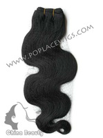 Brazilian Virgin Remy Hair Weave,8inch-22inch,Natural Wavy,2pcs Free shipping to USA