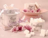 Free Shipping 50box Sugar, Spice and Everything Nice Ceramic Sugar Bowl TC016 Wedding Anniversary party idea gifts
