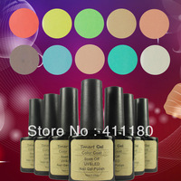 New arrival 10ml Vintage look 242 fashion colors available Soak off UV nail gel polish 9pcs/lot Free shipping