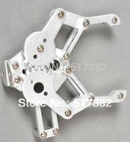 Freeship 1set 2 DOF Aluminium Robot Arm Clamp Claw Mount kit (No servo) Un-assembly Fit for Arduino