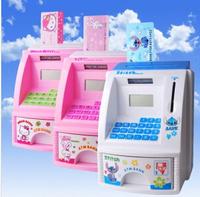 New hot baby children's gift  ATM Toy piggy BANK For Children Money saving  box  Storage Case Box Coin Note Saver