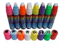 Fluorescent marker pen, neon marker pen, highlighter marker 80pcs a lot, nib size 10mm