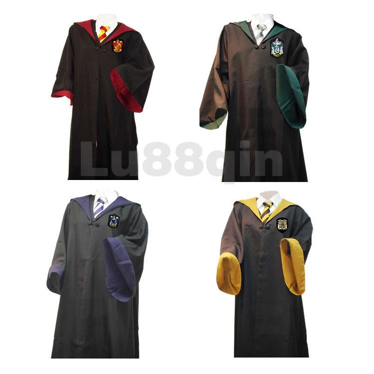 Harry potter gryffondor robe costumes, uniforme scolaire avec des ...