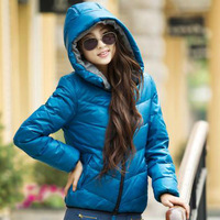 Free Shipping  New Arrival Bazor Women's Down Jacket  Winter Coat Warm Padded Parka Hoody Overcoat Outerwear