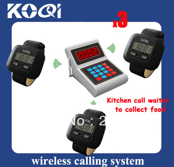 Cook call system Cook call waiter system Cook call wiater to collect order Sample Order DHL Free Shipping Fast Delivery