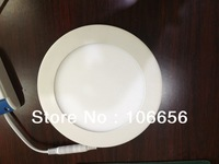SMD2835 12w round led panel light warm white & cold white DHL free shipping 30pcs/lot